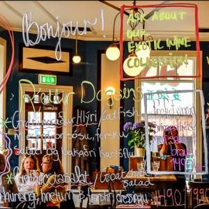 Bar restaurant Reykjavik Islande
