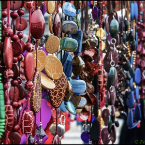 collier couleur coloré