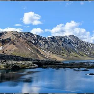 Lac Landmannalaugar Islande