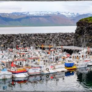 port stykkisholmur islande péninsule du Snæfellsnes