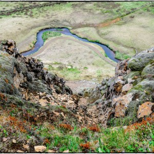 paysage islande montagne fleuve