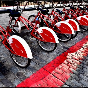 Bicing - Vélos en libre service (Barcelone - Espagne)