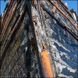 Proue du bateau (Ile de Mull - Ecosse)