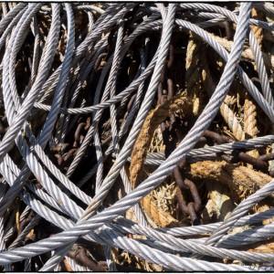 corde cordage rouille chaîne maillon câble matériau bateau