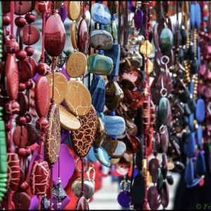 collier couleur coloré