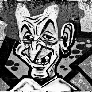 nicolas sarkozy tag graffiti art de la rue street art