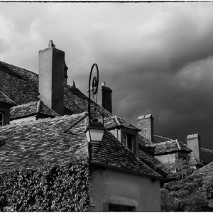toit Vezelay Yonne Bourgogne France