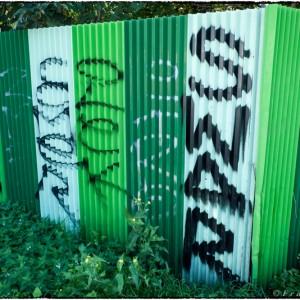 Tag street art