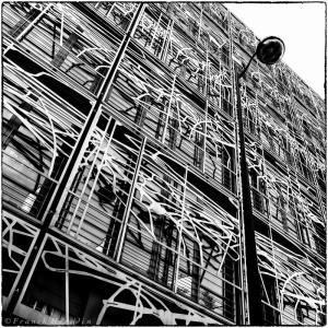 Ministère de la culture Paris France architecture et géométrie