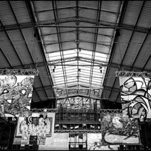 Street art La Villette (Paris)