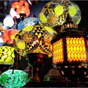 Lampes (Camden market - Londres)
