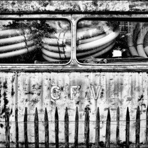 Vieux wagon à la gare de Lamastre - Ardèche