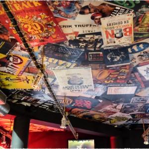 Plafond de la salle Michel Berger à Sannois (France)