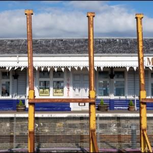 Musée du rail à Kyle (Ecosse)