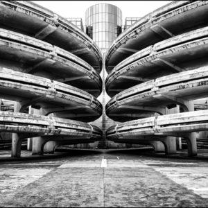 Centre Commercial les Arcades, Noisy le Grand, Seine Saint Denis, France